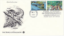 FIRST DAY EVENT COVER FDC 1997 WORLD OF DINOSAURS COMMEMORATIVE POSTAL SOCIETY