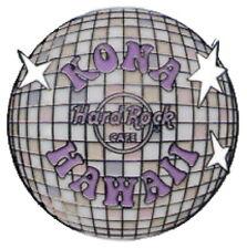 Hard Rock Cafe KONA HAWAII 2008 GLAM ROCK Series PIN Disco Mirror Ball HRC 44553