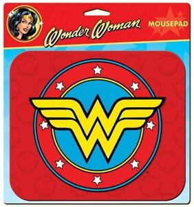 """New WONDER WOMAN Computer MOUSE PAD 8.5"""" x 7"""" Discontinued DC Comics WW84 Movie"""