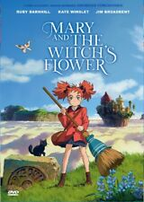 DVD Anime Movie: Mary and The Witch's Flower (English Audio Dub) All Region