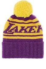 "The Elder Statesman X NBA ""Lakers"" Cashmere Pom-Pom Beanie  $420"