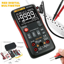ANENG Q1 True-RMS Voltmeter Ammeter Digital 9999 Counts Button Multimeter