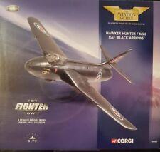 Corgi Aviation Jet Fighter Power Hawker Hunter F Mk6 RAF 'Black Arrows' 49802
