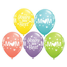 Party Supplies Mother's Day You're the Best Mom Sorbet Ass 28 cm Balloons Pk 10