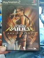 Lara Croft: Tomb Raider Anniversary (Sony PlayStation 2, 2007) PS2 Complete