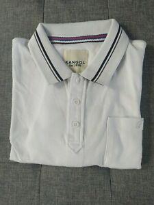 Kangol Men's White T-shirt, Size XL