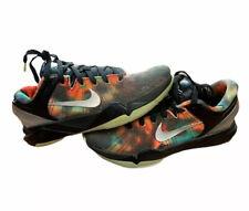 Nike Kobe 7 GS Galaxy Black Metallic Silver Multicolor 505399-002 Size 5y