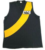 RICHMOND TIGERS AFL 2000 JUMPER Home TAC Tag Size 48 (XL - 2XL)