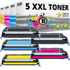 5 XXL TONER für HP Q6470A Q7581A Q7582A Q7583A Color LaserJet 3800N 3800DN 3505N