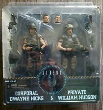 NECA 30th Aliens Corporal Hicks & Private Hudson Action Figure 2 Pack Vary RARE.