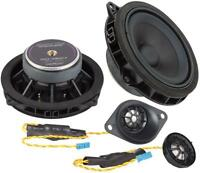 Ground Zero Custom Front Component Speakers Upgrade Fits BMW X1 F48 F49