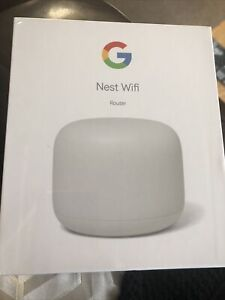 Google Nest (GA00595-GB) Wi-Fi Router - White Brand New And Sealed