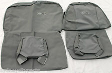 TOYOTA HILUX SEAT COVERS CANVAS SINGLE CAB BUCKET 3/4 SEPT 11 - JULY 15 GENUINE