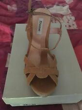 Dune T Bars 100% Leather Sandals & Beach Shoes for Women
