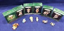 Lot of 6 Misc. Mini Hallmark Ornaments Bears, Christmas, Angel, Deer.
