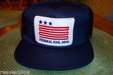 Federal Nail Mfg.  Vintage 1980'Hat s New  100-479