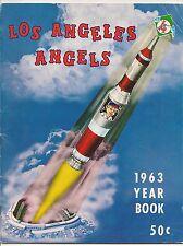 1963 Los Angeles Angels Yearbook 3rd Season BEAUTY!!