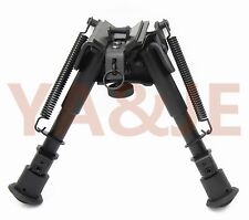 "Tactical Super Duty Bipod  6-9"" Swivel Rifle Hunting  Swivel Top"