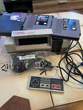 Nintendo Entertainment System Set Mit 3 Spielen