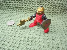 Imaginext Fisher Price Great Adventures Castle Red Gold Knight Battle Axe dragon
