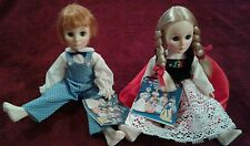 Effanbee  Dolls (Jack) Of Jack&Jill International Switzerland (G) Lot Of 2