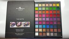 """Italia Deluxe 63 Matte  Colors Palette (7.5"""" x 10 """" ) - Great Quality Eyeshadow"""