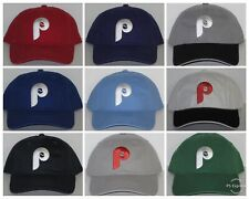 Philadelphia Phillies Polo Style Cap ⚾️Hat ⚾️MLB PATCH/LOGO ⚾️22 HOT COLORS⚾️NEW
