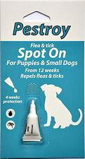 Pulgas Y Garrapatas-Tratamiento Para Cachorros Y Perros Pequeños pestroy por Bob Martin