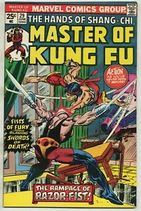 Master of Kung Fu 29 First Razor-Fist High Grade