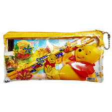 Winnie the Pooh Bear Pencil Case With Accessories US Seller Free Tracking  New