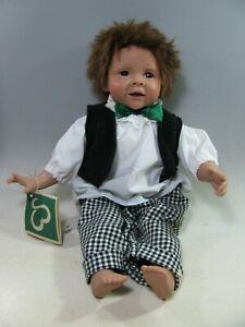 "430| BaMey Puppe ca 42 cm groß "" Manuel "" limitiert auf 300 Stk. Künstlerpuppe"