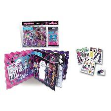 Monster High Stickerzine Sticker Album Plus 28 Stickers