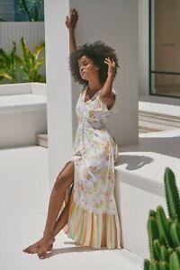 JAASE WOMEN'S ROMI MAXI DRESS SPLICE PRINT