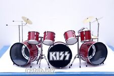 ERIC CARR KISS TRIPPLE BASS DRUM SET DRUM KIT MINIATURE FOR DISPLAY ONLY #2