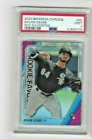 2020 Bowman Chrome Dylan Cease RC Rookie ROY Favorites #DC PSA 9 MINT White Sox