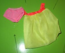 Barbie Sears Exclusive Glamour Group Yellow Nighty with Pink Panty Mint