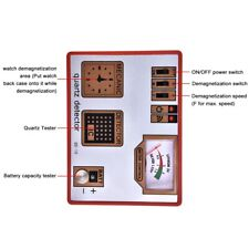 Watch Demagnetization/Battery Measure/Pulse/Quartz Detector Tester Timegrapher