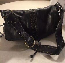 KOOBA Annie Corset Lace RARE Leather Handbag Purse Shoulder Bag