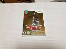 Wii Legend of Zelda: Skyward Sword w/soundtrack CD USED