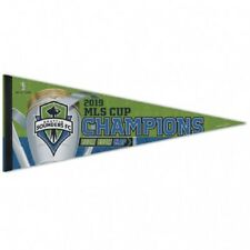 2019 MLS Champions Seattle Sounders Premium Pennant