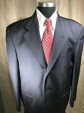 Gianfranco Rossi 44R Blazer Sport Coat Mens Charcoal Gray 3 Btn Made In Italy