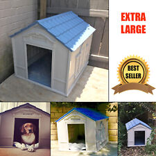 Dog House for Extra Large Breed Outdoor Indoor Outside Durable Home Weatherproof