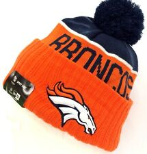 2015-2016 Denver Broncos NEW ERA NFL SIDELINE SPORT KNIT Cap Beanie Pom