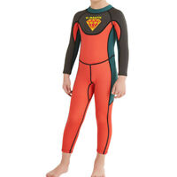 Kids Long Sleeve Wetsuit 2.5mm Thermal Swimsuit Boy's and Girl's Swimming
