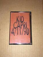 DJ Kid Capri 4/11/90 RARE 90s Hip Hop Cassette Mixtape BRONX NYC Tape