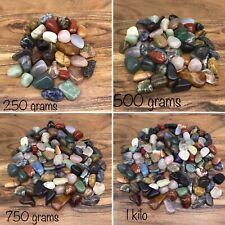 Premium Tumble Stone Mix - Crystals, Gems & Minerals - Free Chart (BULK BUY)