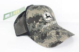 John Deere Men's Digital Camo Mesh Hat Cap Embroidered LP67041