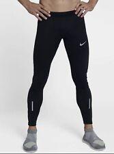 Nike SHIELD TECH Mens Running Tights Medium Black 859270 010