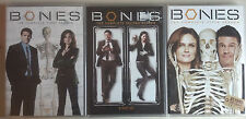 New Sealed Bones DVD Lot Seasons 1 2 5 Widescreen Edition First Second Fifth