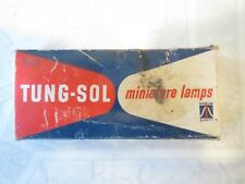 VINTAGE TUNG-SOL 57X MINIATURE LAMPS 12V WAGNER ELECTRIC CORPORATION 10 IN BOX